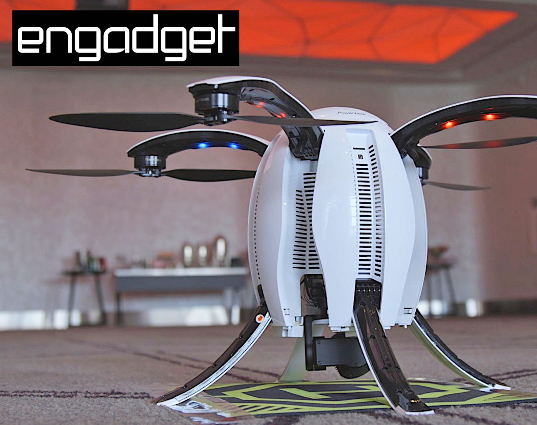 The Power Egg is unlike any drone you