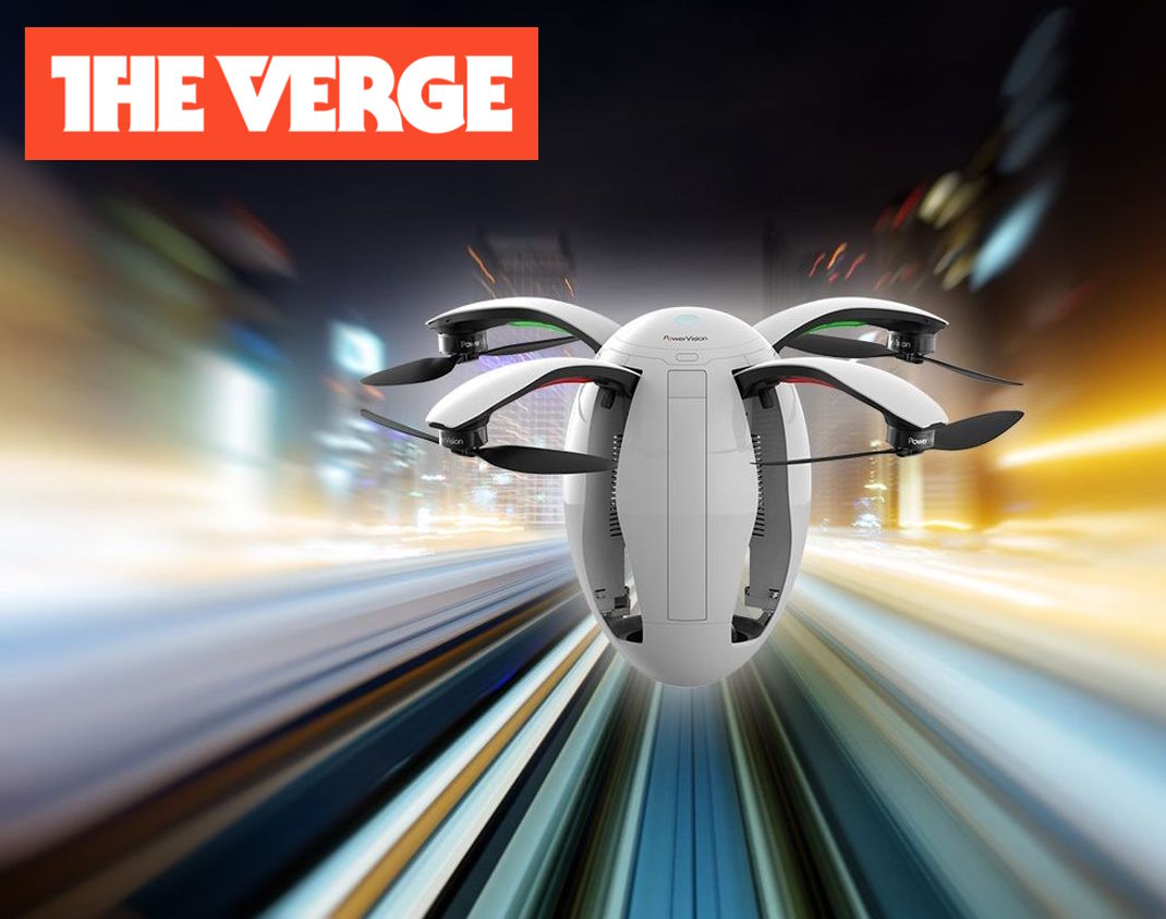This flying egg drone is yours to preorder for $1,288