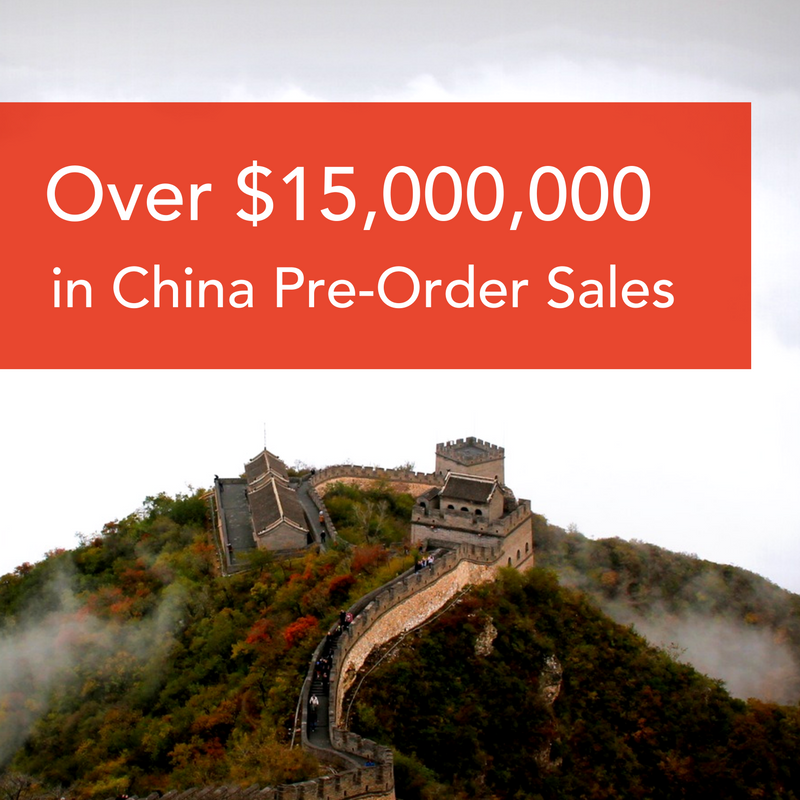 PowerEgg Pre-Orders Sets Record in China