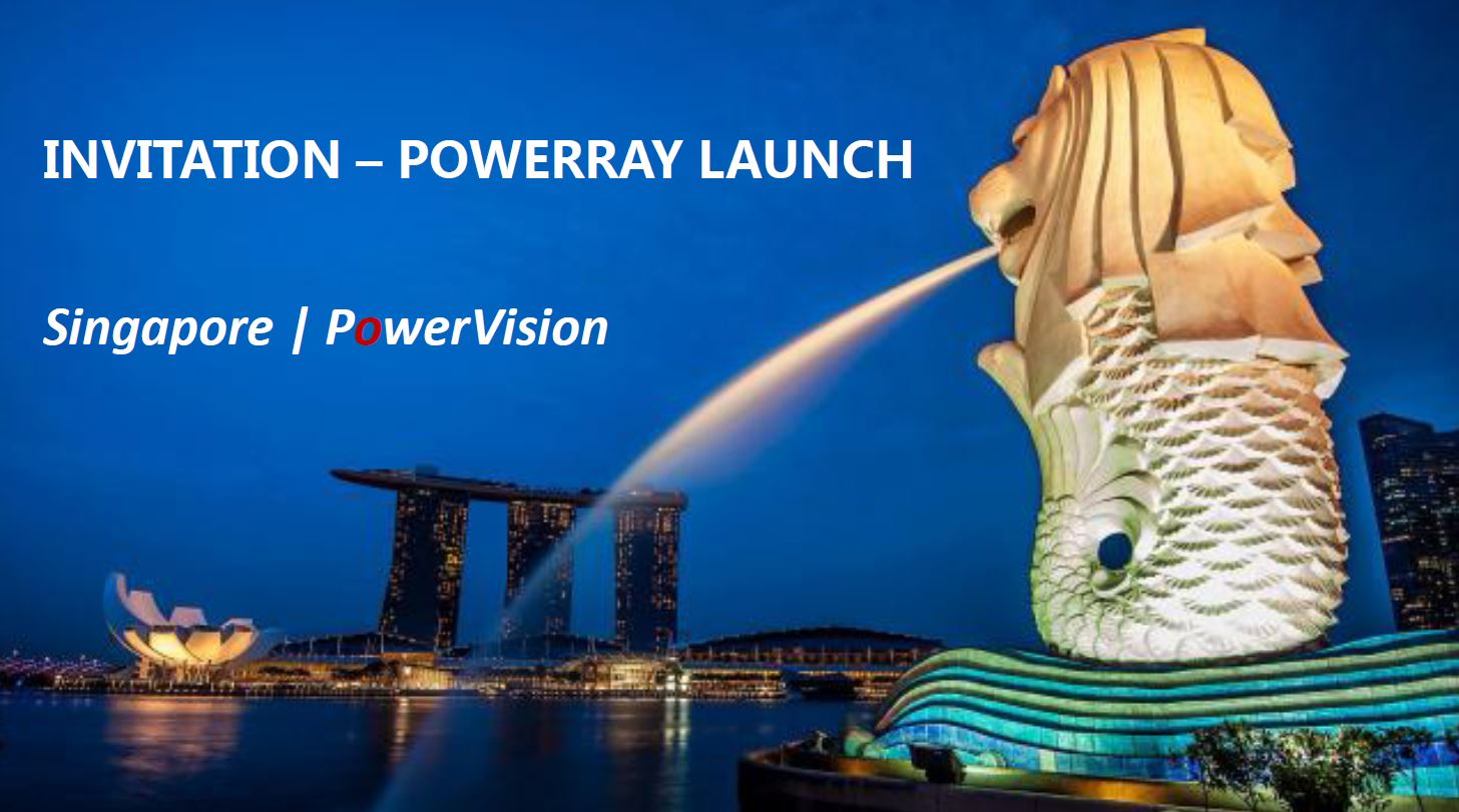 PowerVision シンガポールでPowerRay を発表